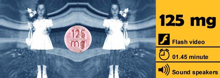125 mg | video dario quaranta nero pop