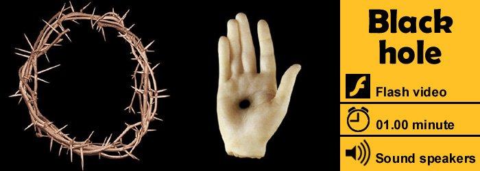 Black hole | video dario quaranta nero pop